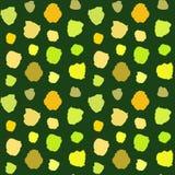 Green Blots Pattern Stock Photos