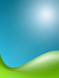 Green and blue stock illustration