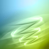 Green and blue abstract background Royalty Free Stock Photography