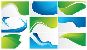 green and blue abstract backgrounds royalty free stock photography