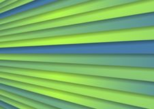 Green blue abstract corporate stripes background. Green and blue abstract corporate stripes vector background Royalty Free Stock Photos