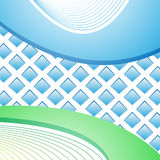 Green and blue background Royalty Free Stock Photography