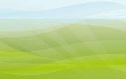 Green and blue background Stock Image