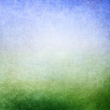 Green blue background. Abstract green blue background. Old paper texture. Faded central area for copy space Stock Image
