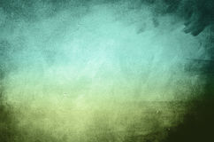 Green and blue background Stock Photography