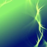 Green blue background with lights and lines Royalty Free Stock Photo