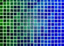 Green blue background made of plastic Royalty Free Stock Photography