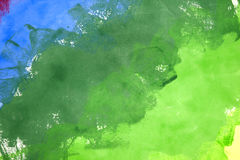 Green and blue background Stock Photo