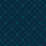 Green and Blue Colors Round grid Pattern. Korean traditional Pat Stock Photography