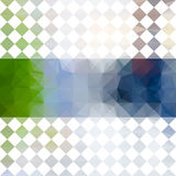Green and blue defocused background Stock Photo