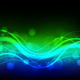 Green blue glowing background Royalty Free Stock Photos