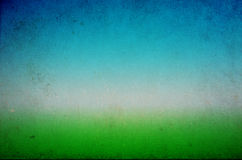 Green and Blue Grunge Background Stock Photos