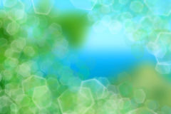 Green and blue  light effect background Stock Photography