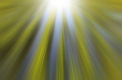 Green and blue light rays Royalty Free Stock Image