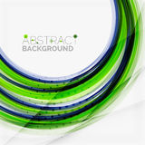 Green and blue lines background Royalty Free Stock Photo