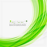 Green and blue lines background Stock Photography
