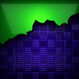 Green and blue metal background Royalty Free Stock Image