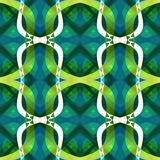 Green blue modern abstract texture. Detailed background illustration. Structured seamless tile. Textile print pattern. Home decor Stock Photography