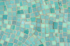 Green and Blue Mosaic Stock Photos