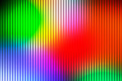 Green blue orange red abstract with light lines blurred backgrou Stock Image