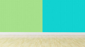 Green blue pastel color Interior background Stock Photography