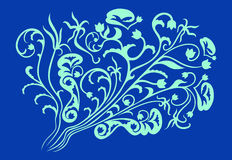 Green and blue pattern Stock Photography