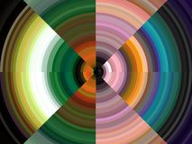 Free Green Blue Pink Black Blue Circular Lines Sparkling Colors, Abstract Geometries, Background Royalty Free Stock Images - 155501449