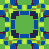Green and Blue Pixel Background Royalty Free Stock Images