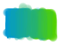 Green-blue rectangle spot. Royalty Free Stock Photos