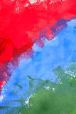 Green blue and red background Royalty Free Stock Photography
