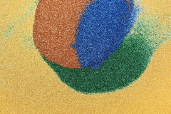 Green blue red glitter sparkle Royalty Free Stock Photography