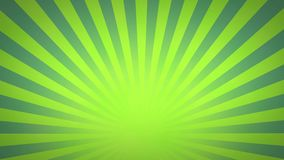 Green and Blue Rotating Sunburst Animated Looping Background stock video