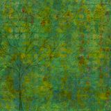 Green blue rusty Background Royalty Free Stock Photos