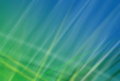 Green - blue screen saver. With transparent soft lines Royalty Free Stock Image