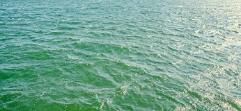 Green blue sea water, texture background, ripple waves Stock Photo