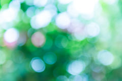 Green and blue summer bokeh for background Royalty Free Stock Photography