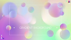 Green blue vibrant colors and gradient background. Green blue vibrant colors on gradient background royalty free illustration