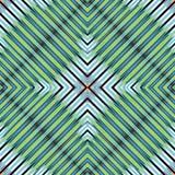 Green blue white black lines beautiful geometric background  Stock Image
