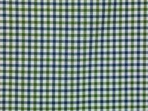Green, blue and white checkered background Royalty Free Stock Photos