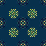 Green-Blue-Yellow Background Royalty Free Stock Photography