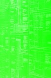 A green blueprint Stock Photos