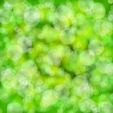 Green blur bokeh background wallpaper Royalty Free Stock Photography