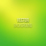 Green Blurred Background With Halftone Effect Stock Photos