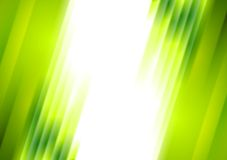 Green blurred stripes bright corporate background Stock Photography