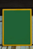 Green board. Green school board wood Background Royalty Free Stock Photo