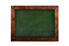 Green board in wooden frame Royalty Free Stock Image