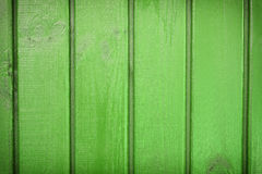 Green boards background Stock Photography
