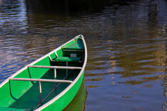 Green Boat Stock Photo