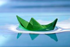 Green boat Stock Photos