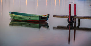 Green Boat Royalty Free Stock Photography